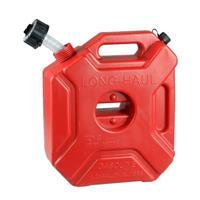מיכל 5 ליטר עם ברז  שטוח  אדום לדלק מים  סולר - ללא מתקן תלייה ומנעול - מתקן תליה ומנעול נמכר בנפרד