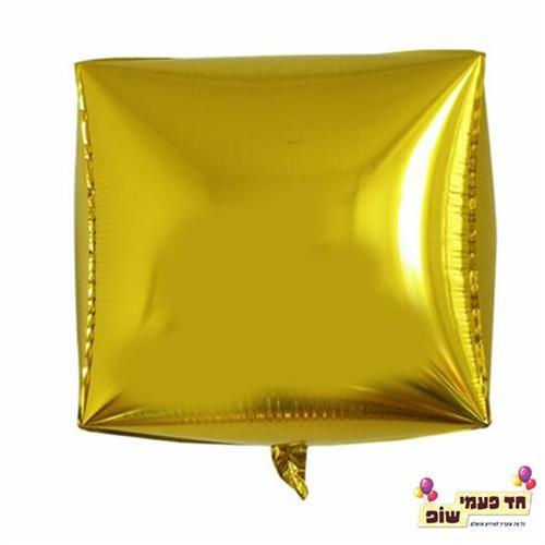 בלון מרובע 24 אינץ' זהב (ללא הליום)
