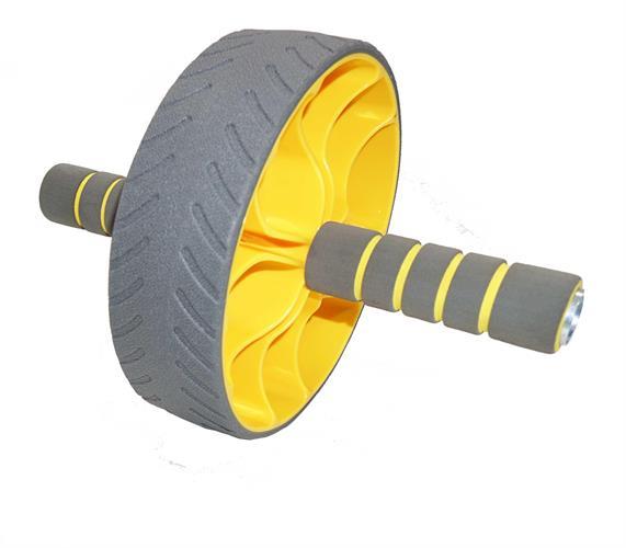 """גלגל אימון בטן מקצועי 19.5 ס""""מ  ABS EXERCISE WHEEL"""