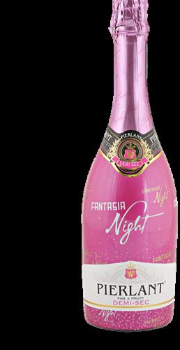 """שמפניה צרפתית 750 מ""""ל   PIERLANT FANTASIA"""