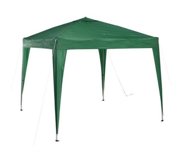 גזיבו ברזנט צבע ירוק 2.4 מטר