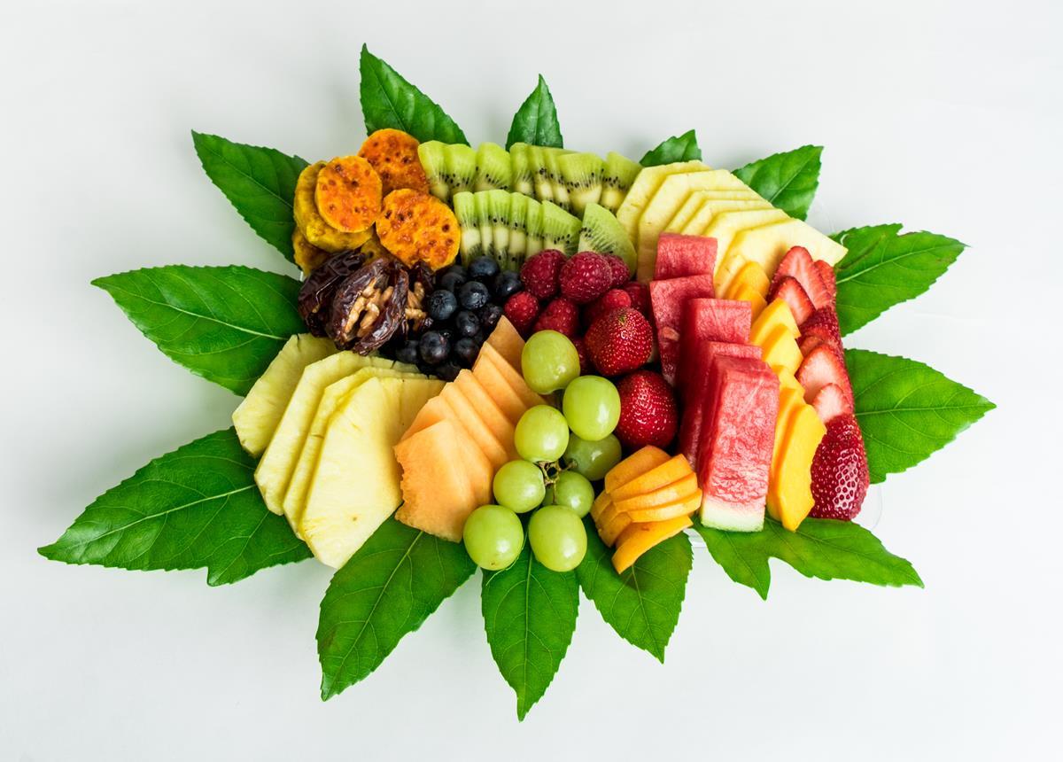 מגש פירות קטן