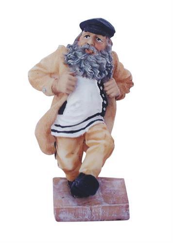 """חסיד מפוליריזן עומד על במה ורוקד - רקדן קוזצ'וק 11 ס""""מ"""