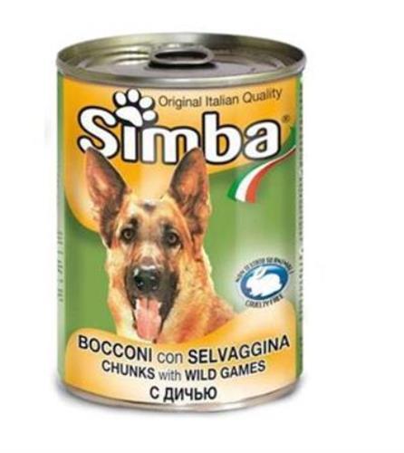 שימורי סימבה לכלב בשר צייד