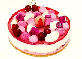 A magical pink cake - הורודה הקסומה