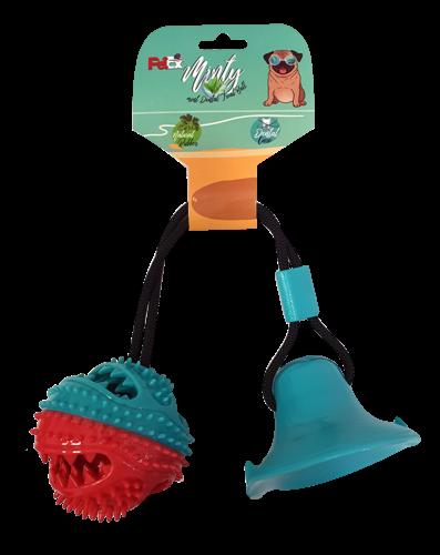 צעצוע דנטלי לכלב של חברת פטקס עשוי גומי מובחר עם וואקום