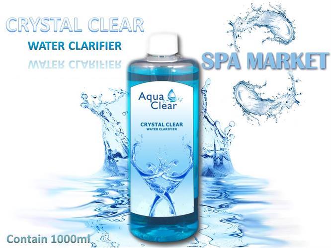 CRYSTAL CLEAR 1L - מצליל - סופח חלקיקים במים