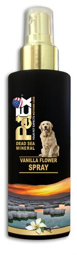 בושם לכלב  100 מ״ל פטקס  מועשר במינרלים של ים המלח בניחוח וניל