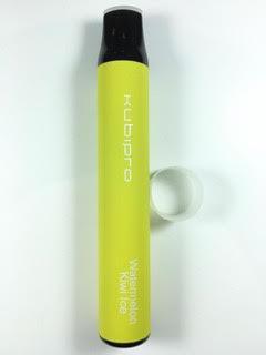 סיגריה אלקטרונית חד פעמית כ 2000 שאיפות Kubipro Disposable 20mg בטעם אבטיח קיווי Watermelon Kiwi Ice