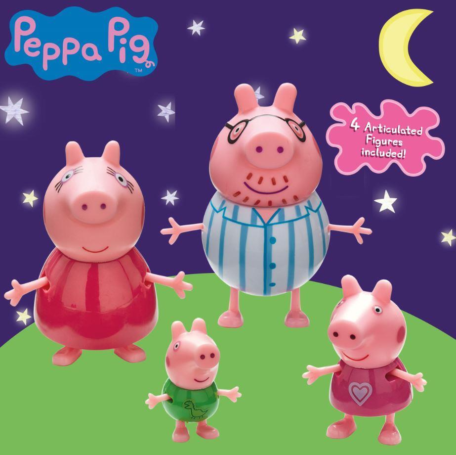 פפה פיג-משפחת פפה בפיג'מות