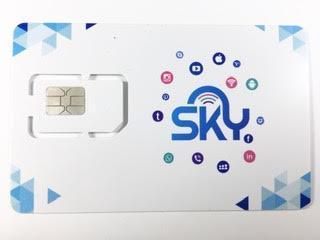 סים גלישה בלבד 50 ג'יגה ל 36 חודש של חברת SKY למכשיר 'נטו וייז' ועוד