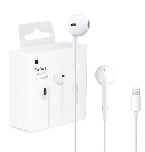 אוזניות חוטיות Apple EarPods with Lightning אפל יבואן רשמי במלאי