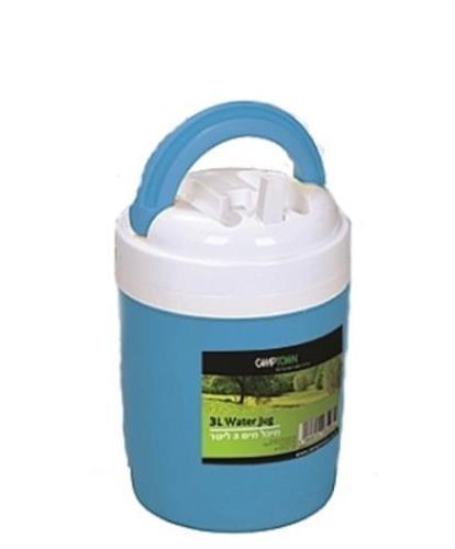 טרמוקל מיכל מים קשיח 3 ליטר צבע כתום בלבד כעת