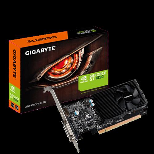 כרטיס מסך Gigabyte GT 1030 2GB DDR5 DVI HDMI Low Profile