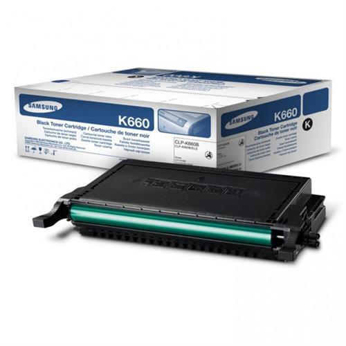 טונר מקורי שחור CLP-K660B לדגם סמסונג CLP-610,660ND CLX-6210,6240FX