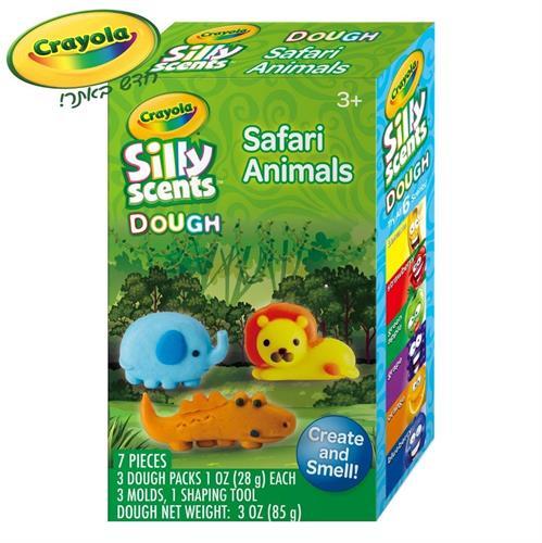 ערכת משחק חיות ג'ונגל - בצק ריחני קריולה