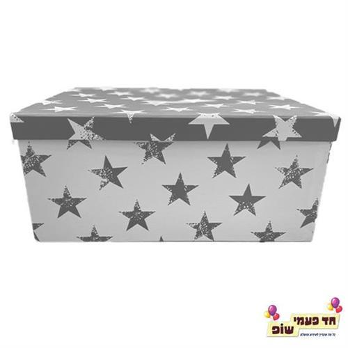 קופסא כוכבים כסף מידה 9