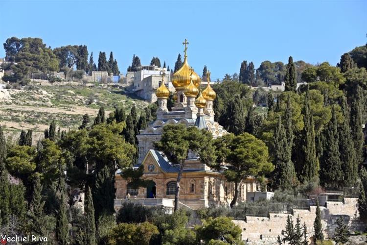 Support Israel and get this picture: Church of Mary Magdalene