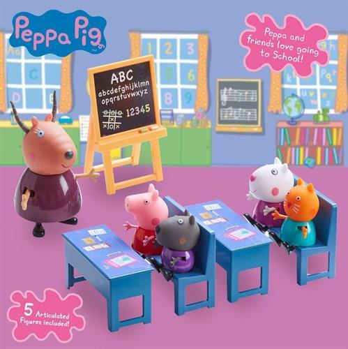 סט משחק, הכיתה של פפה עם 5 חברים