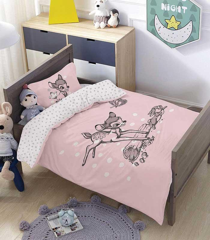 מותגים למיטת מעבר \ תינוק -במבי ג'אמפ 100% כותנה