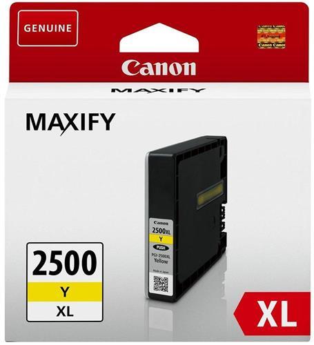 ראש דיו צהוב מקורי Canon PGI-2500XL Y
