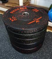 """פלטות משקל אולימפית 10 ק""""ג - HI-TEMP BUMPER PLATE"""