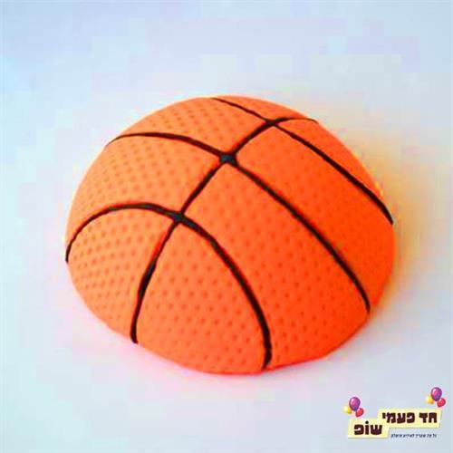 קישוט כדורסל בצק סוכר