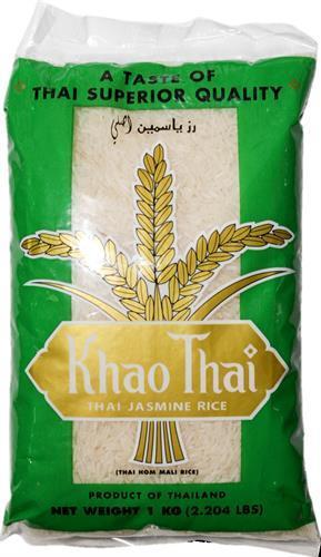 """אורז יסמין 1ק""""ג  קאו תאי (סוג א.א)"""