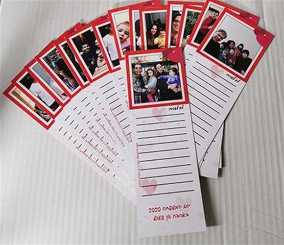 מגנט רשימת קניות/ מגנט ליום המשפחה