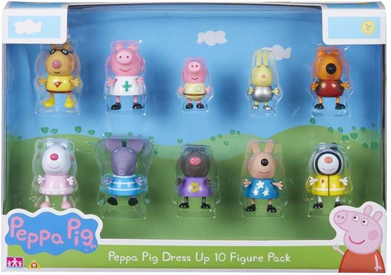 פפה פיג- החברים של פפה (10 דמויות)