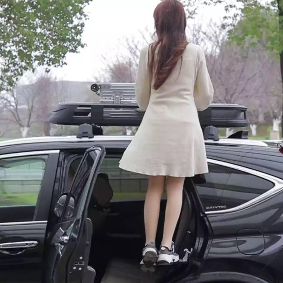 סולם מדרגת מפתן דוושה לטפס על גג הרכב