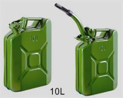 ג'ריקן דלק 10 + משפך