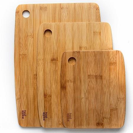 סט 3 קרשי חיתוך במבוק Bamboo מבית FOOD APPEAL