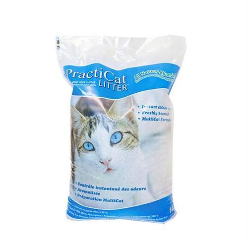 """פרקטיקט, חול מתגבש מנטרל ריחות לחתולים, 14 ק""""ג – Practicat Litter"""