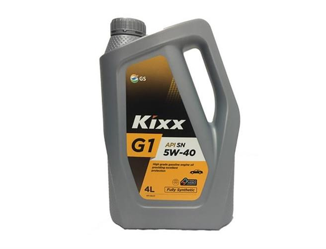 שמן מנוע G 5W40 KIXX/LUK 4L