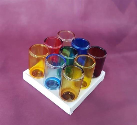Цветные стаканчики для зажигания масла