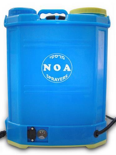 מרסס גב 16 ליטר חשמלי-  נטען דגם NOA-01