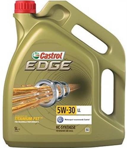 שמן מנוע 5 ליטר CASTROL EDGE 5W30 LL