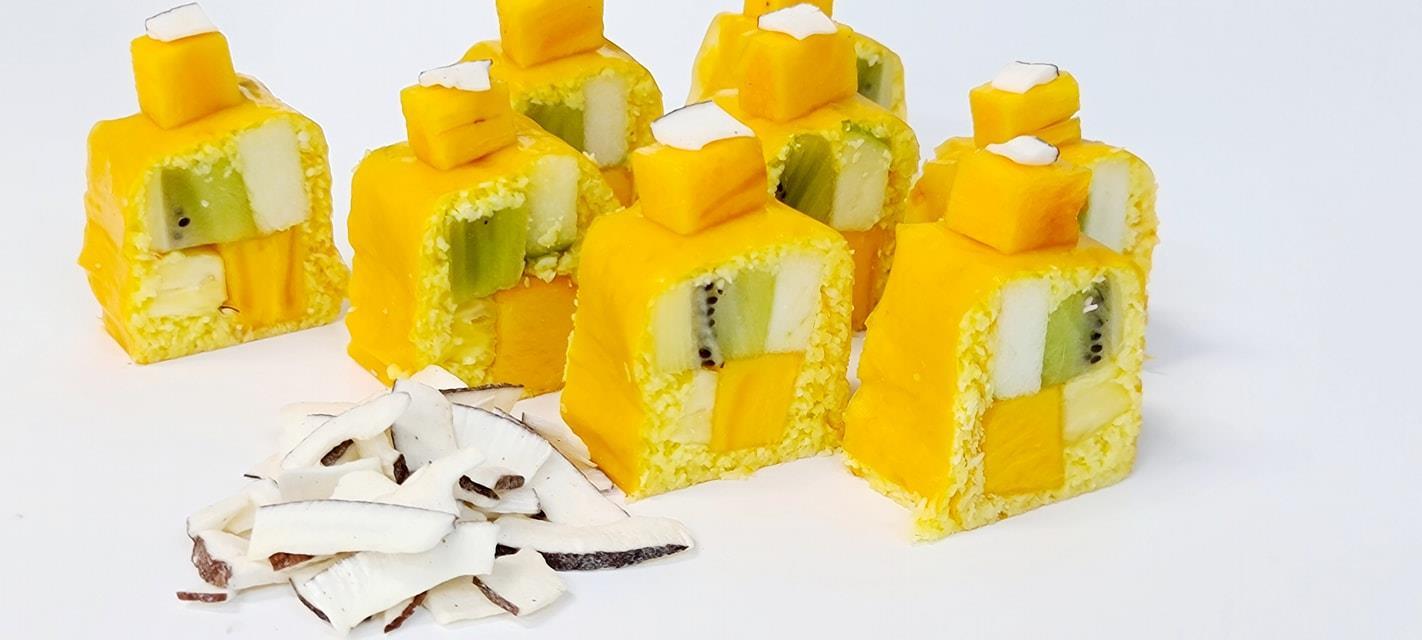 רול סושי פירות טעם אפרסמון