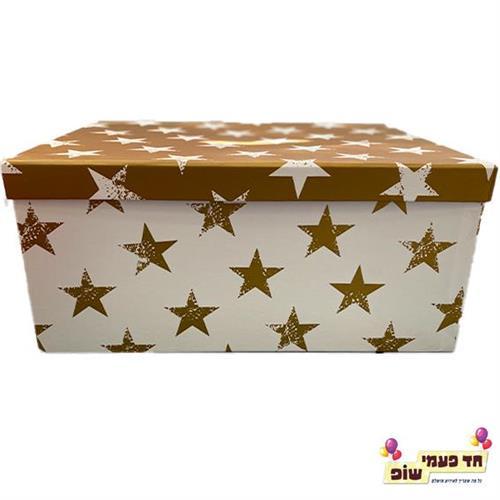 קופסא כוכבים זהב מידה 10