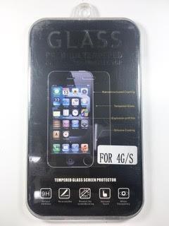 מדבקת זכוכית לאייפון IPHONE 4