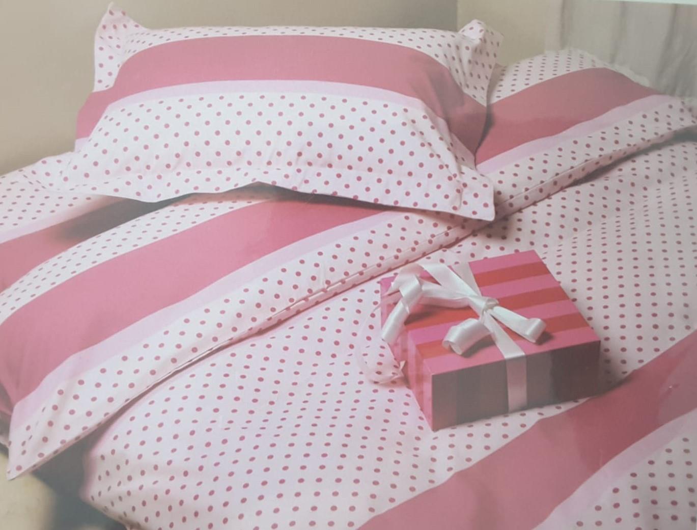 מצעים למיטת יחיד 100% כותנה - פריד דגם שרי