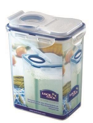קופסא לאחסון קמח 1.8 ליטר דגם LOCK&LOCK 813