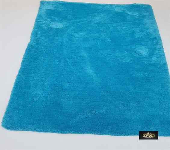שטיח שאגי כחול \ מיקרו פיבר
