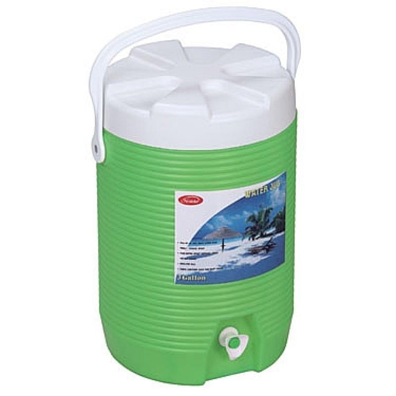 מיכל מים עגול קשיח 11.4 ליטר כולל ברז וידית נשיאה קשיח CAMPTOWN