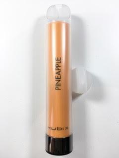 סיגריה אלקטרונית חד פעמית כ 1200 שאיפות Kubi X Disposable 20mg בטעם אננס Pineapple