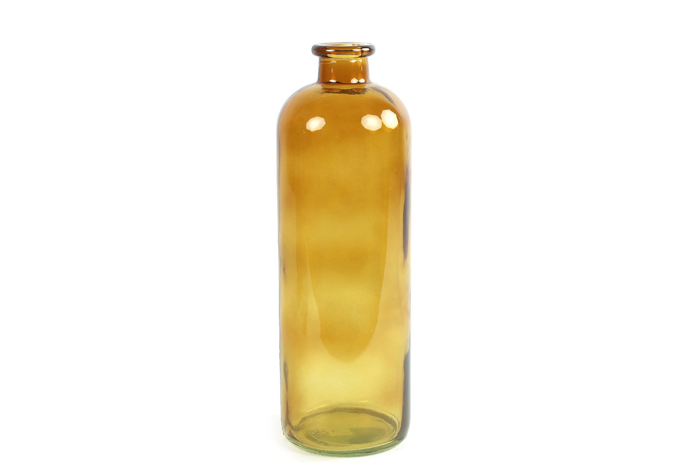 בקבוק זכוכית חום בהיר L