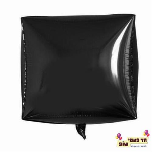 בלון מרובע 24 אינץ' שחור (ללא הליום)