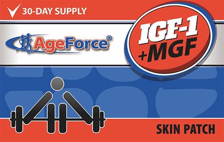 MGF + IGF – הורמונים לפיתוח שריר