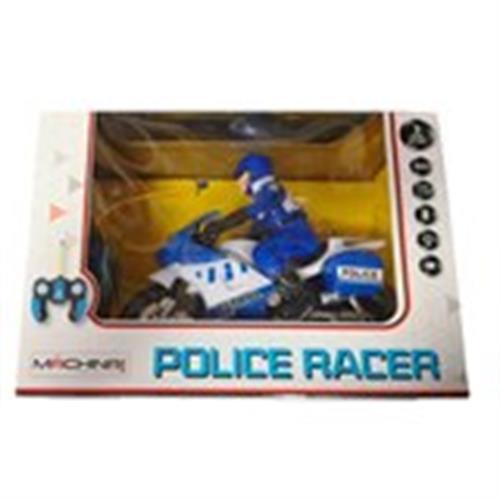 אופנוע משטרה על שלט